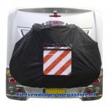 Fietshoes caravan / camper achter met insteekvak (max. 2 fietsen)